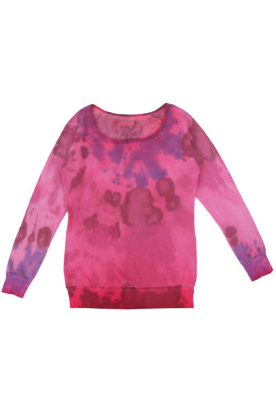 SPLATTER FLEECE