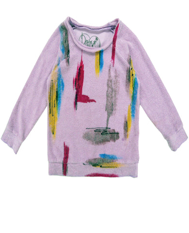 LES COULERS TWEEN LONG SLEEVE YUMMY FLEECE TOP