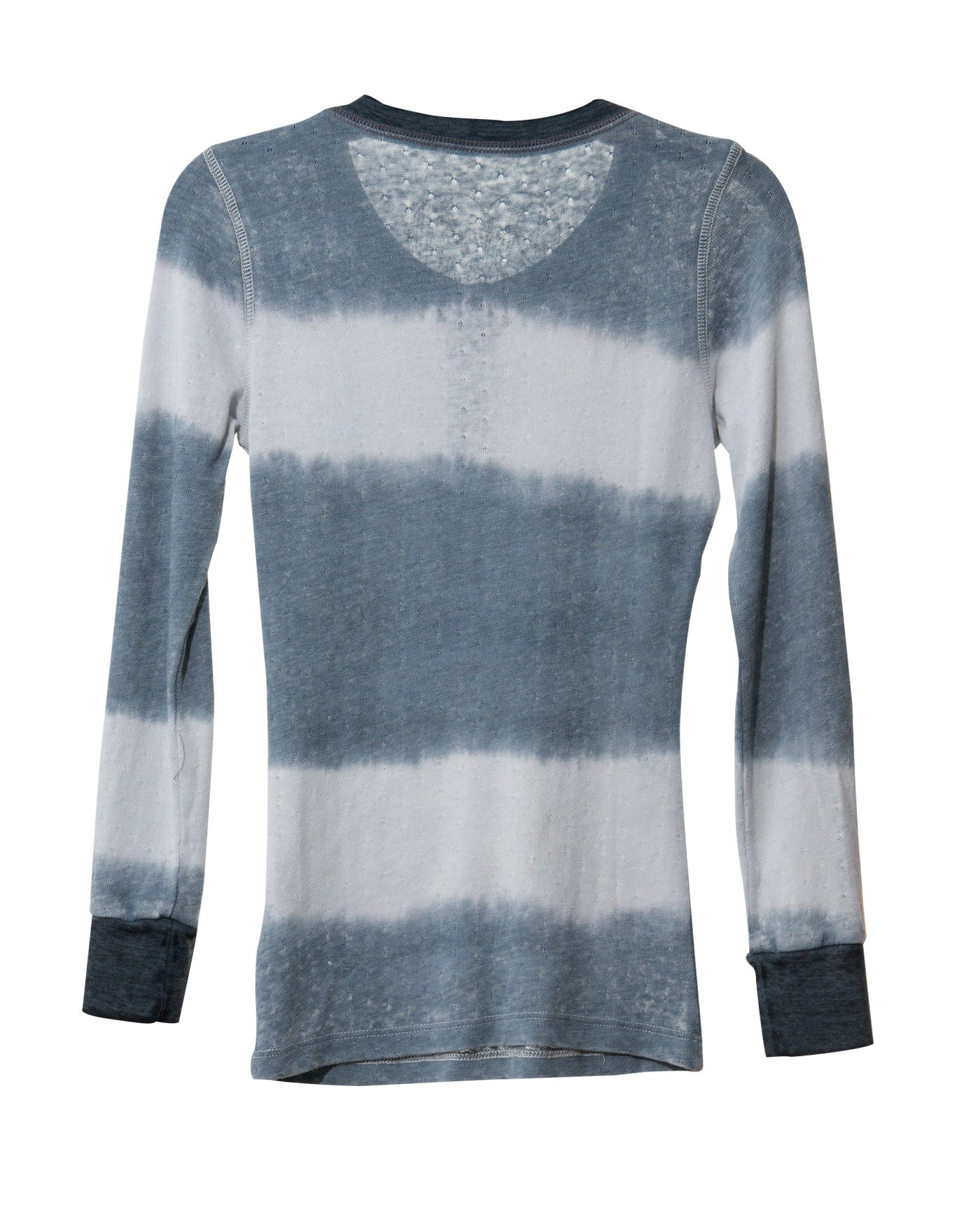 STRIPES HENLEY TWEEN LONG SLEEVE T-SHIRTS