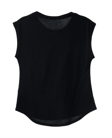 DOVE CROWN TWEEN MUSCLE TANK