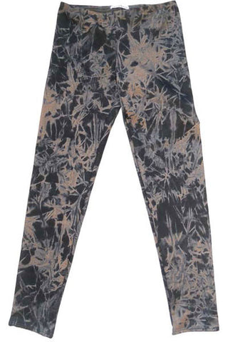 AUTUMN LEAVES LEGGING - GOLD