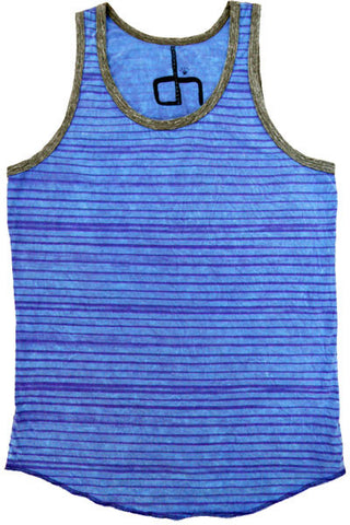 BROKEN STRIPE MEN TANK