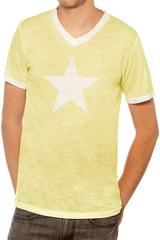 AIR BRUSH STAR MEN T-SHIRT