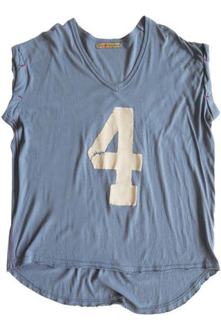 BLUE DENIM NUMBER 4 WOMEN TANK