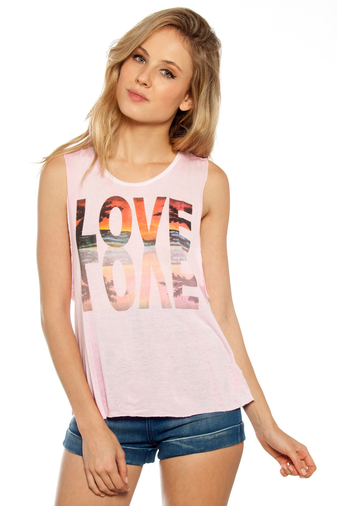 MIRROR LOVE MUSCLE TANK