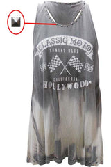 CLASSIC MOTO HOLLYWOOD WOMEN TANK
