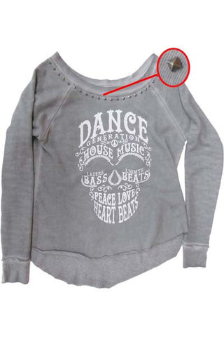 DANCE GENERATION SUGAR SKULL WOMEN SWEATSHIRT