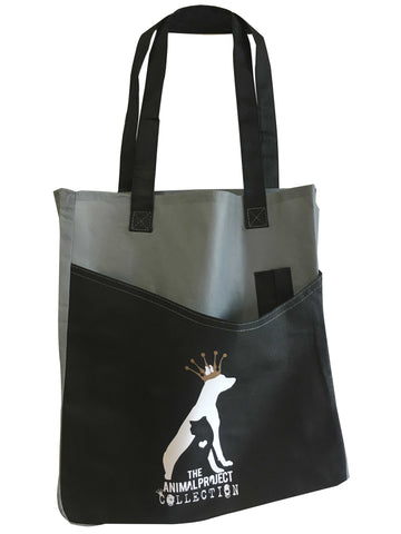 THE ANIMAL PROJECT COLLECTION POCKET TOTE BAG