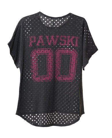 KEEPER PAWSKI KIDS' MESH DOLMAM ROLL SHORT SLEEVE TEE