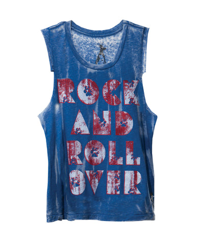ROCK AND ROLL OVER KIDS' MUSCLE TANK