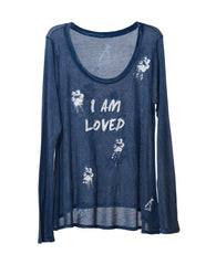 I'M LOVED WOMEN'S LONG SLEEVE TEE