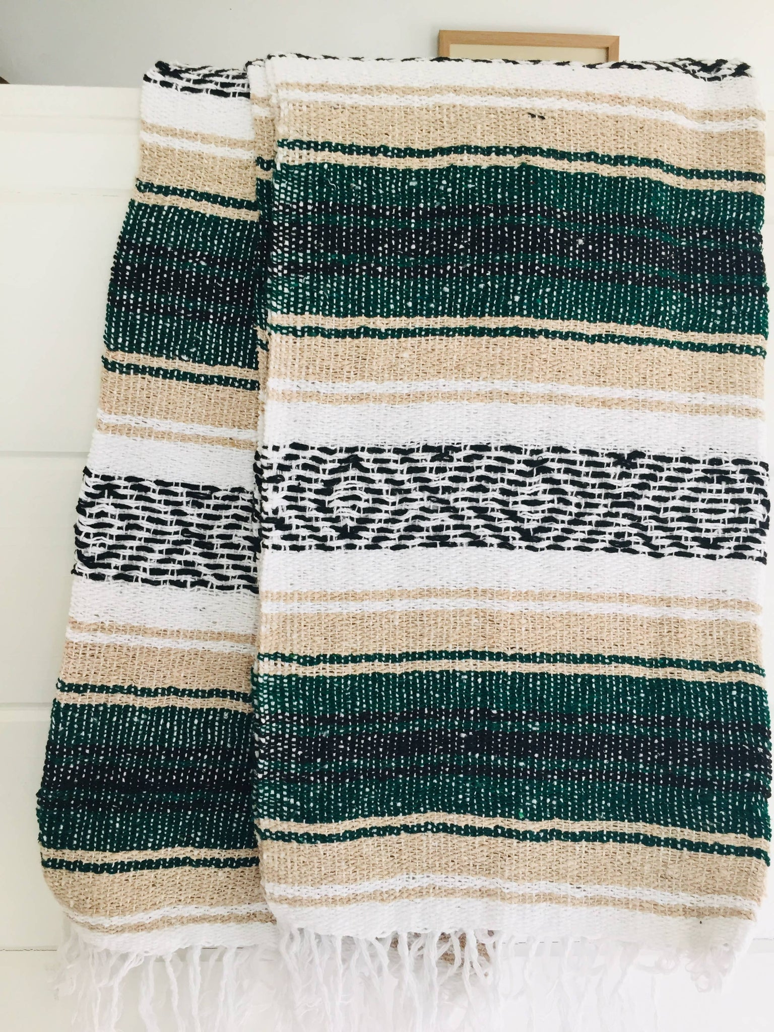Wild Woods Beach Blanket l Mexican Blanket l Throw Blanket