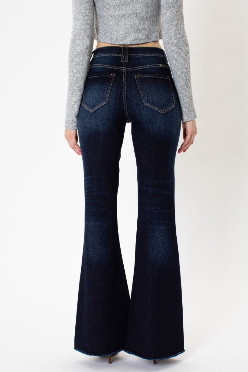 Denim Dark Wash Bells