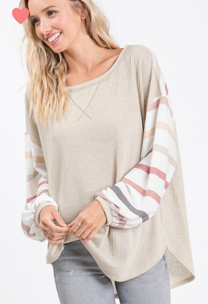 Multi Sleeve Top