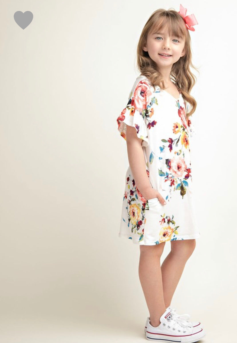 Juliet Floral Tee Dress