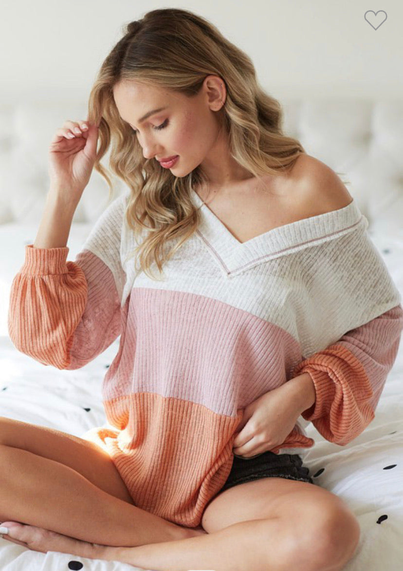 Spring Is Coming Sweater