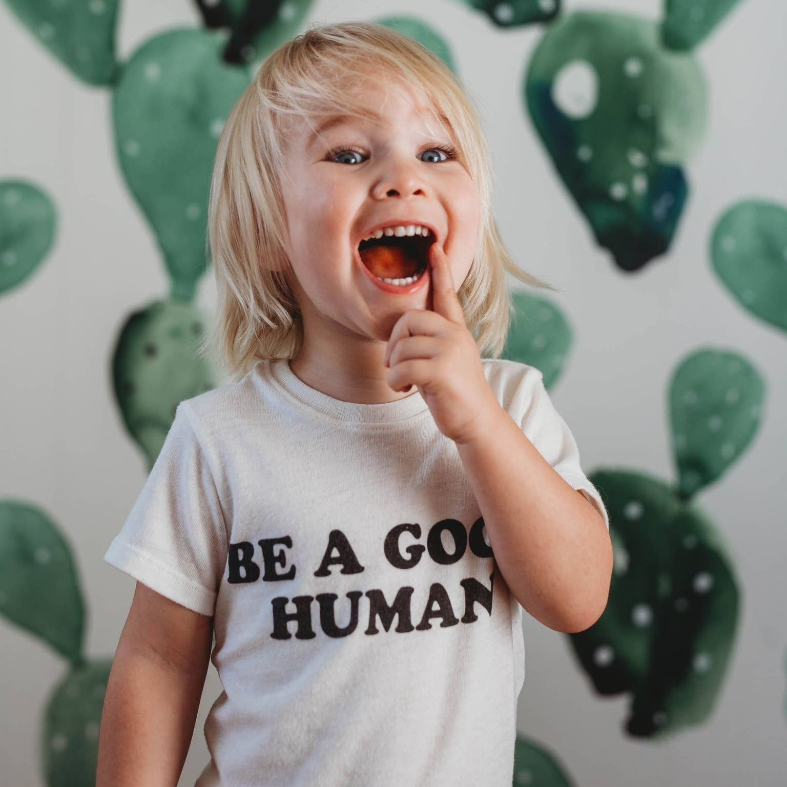 Toddler- Be A Good Human