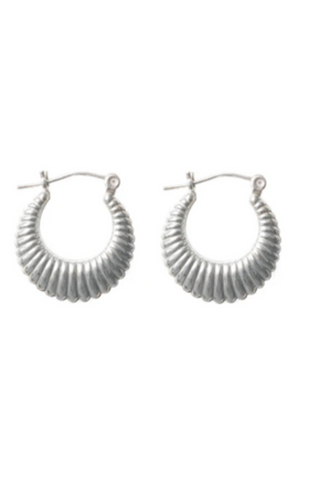 Cindy Earrings | Silver