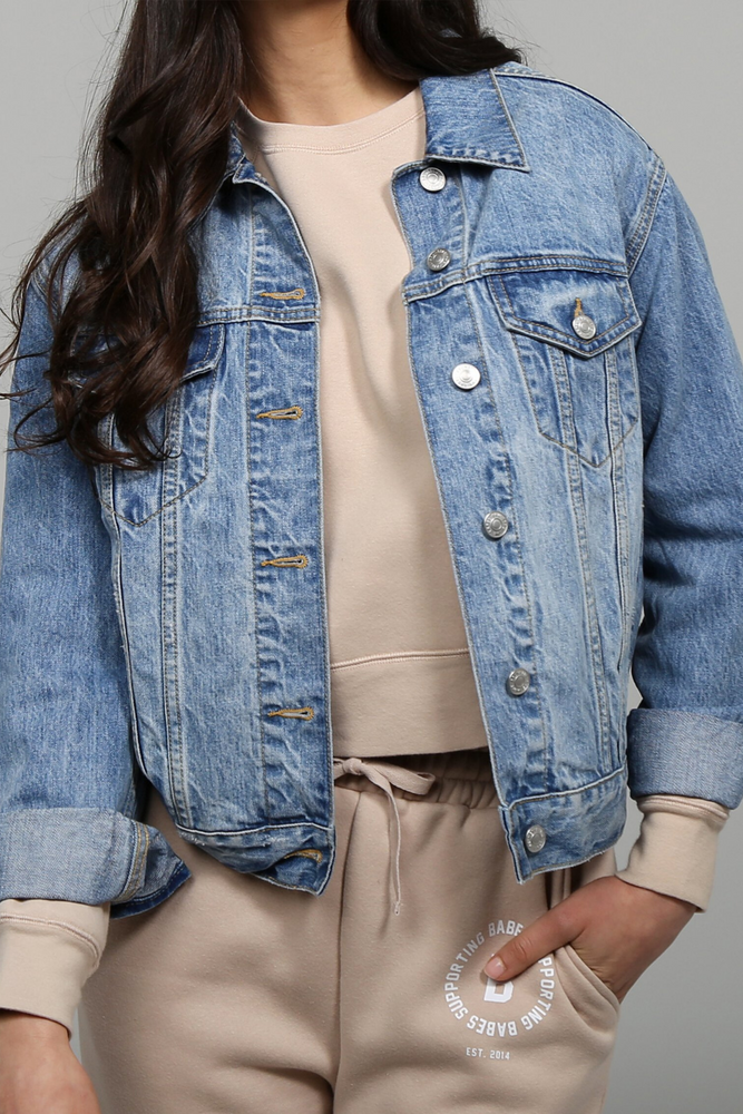 The LINDSAY Denim Jacket