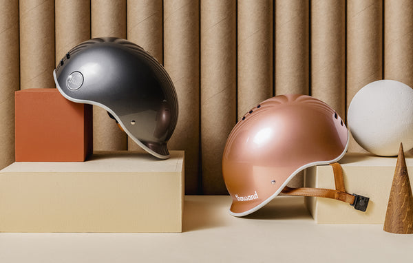 POLISHED TITANIUM Bike Helmet - Allthatiwant