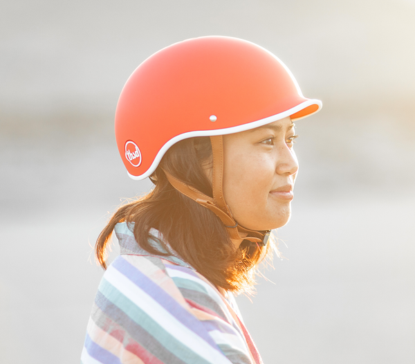 DAYBREAK RED Bike Helmet - Allthatiwant