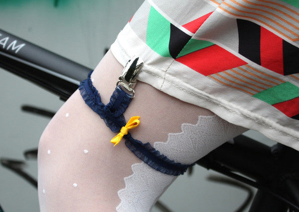 The Bicycle Skirt Garter - Allthatiwant
