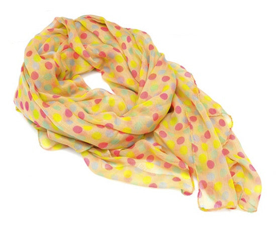 "Scarf ""Color Dots"" - Allthatiwant"