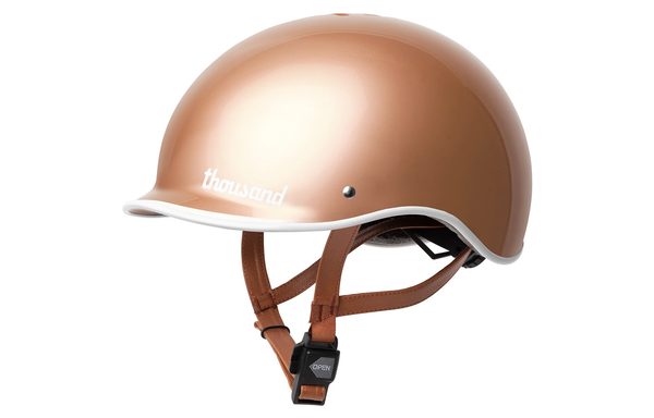 ROSE GOLD Bike Helmet - Allthatiwant