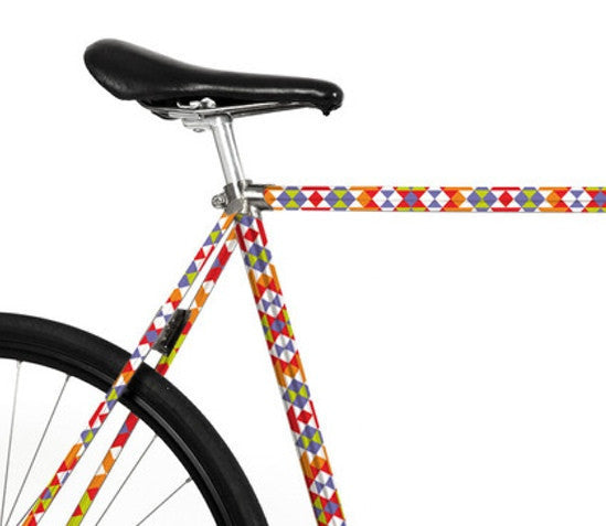 Bike Foliation - Ethnic Pattern - Allthatiwant