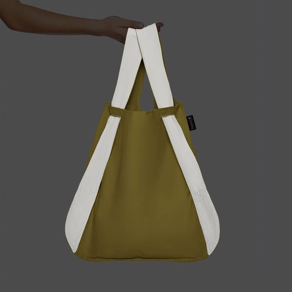 REFLECTIVE NOTABAG – YELLOW - Allthatiwant