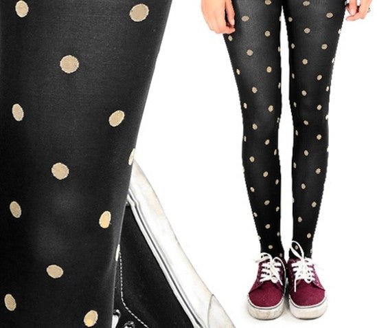 "Tights ""Let's Polka"" - Allthatiwant"