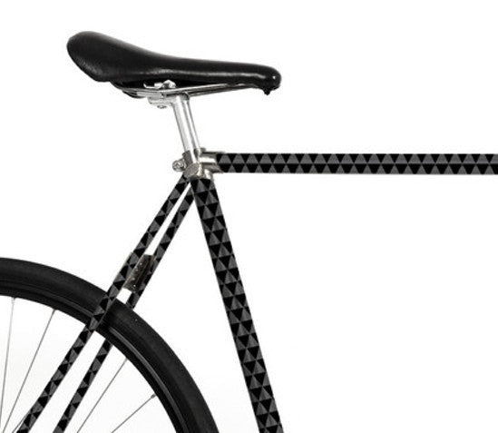 Bike Foliation - Grey - Allthatiwant