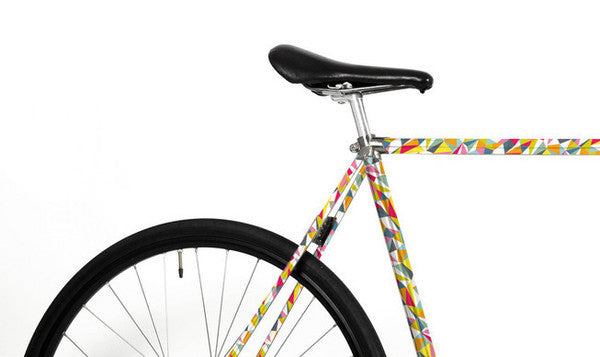 Bike Foliation - Triangle - Allthatiwant