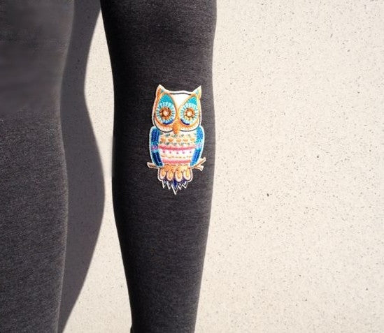 "Leggings ""Owl"" - Allthatiwant"