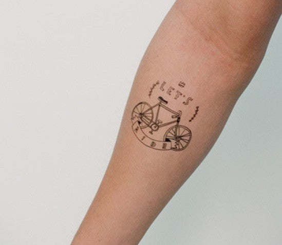 "Tattly ""Let's ride"" - Allthatiwant"