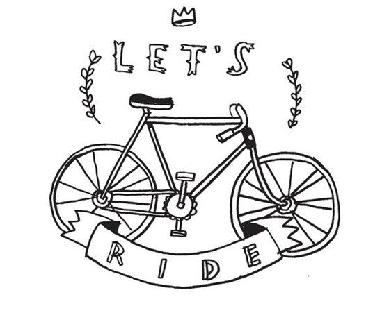"Tattly ""Let's ride"""