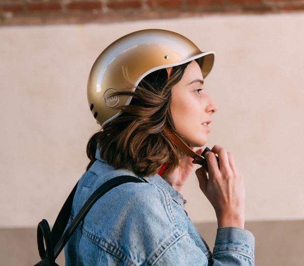 PREMIUM GOLD Bike Helmet