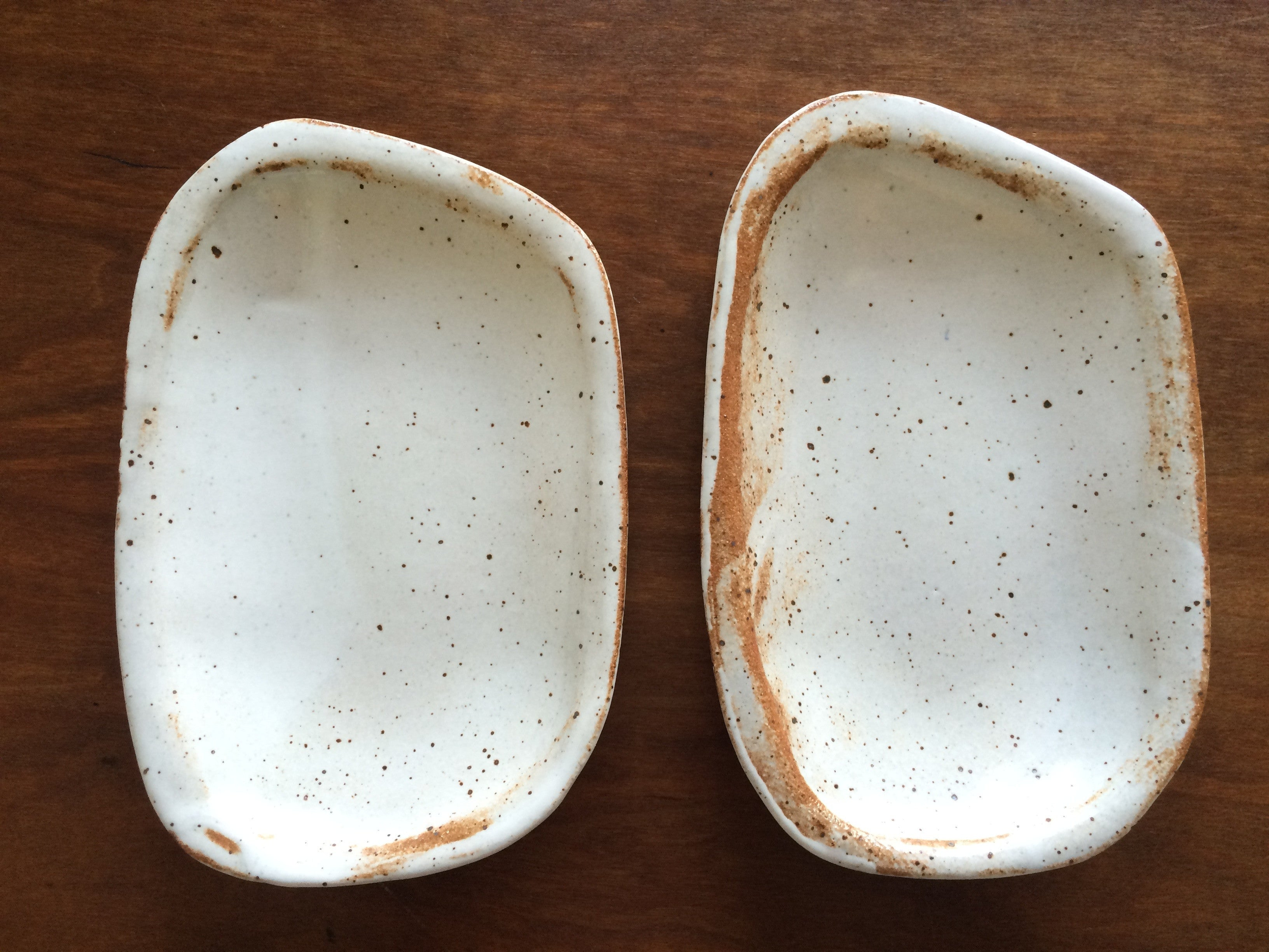 SMALL DISHES, set of two