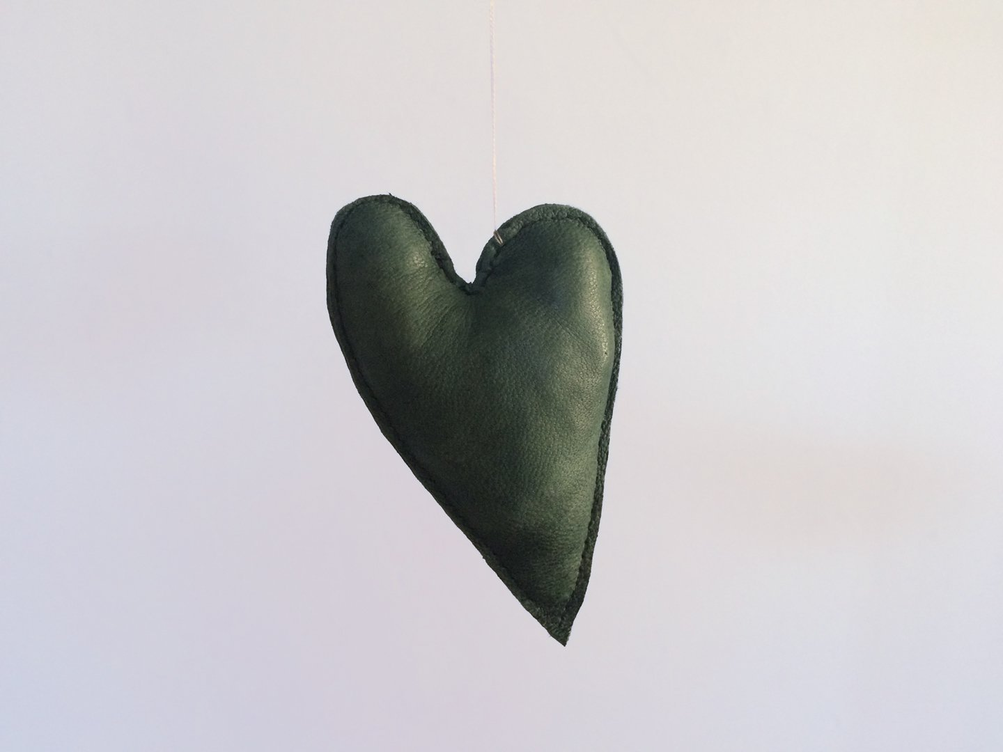 HEART in green, medium