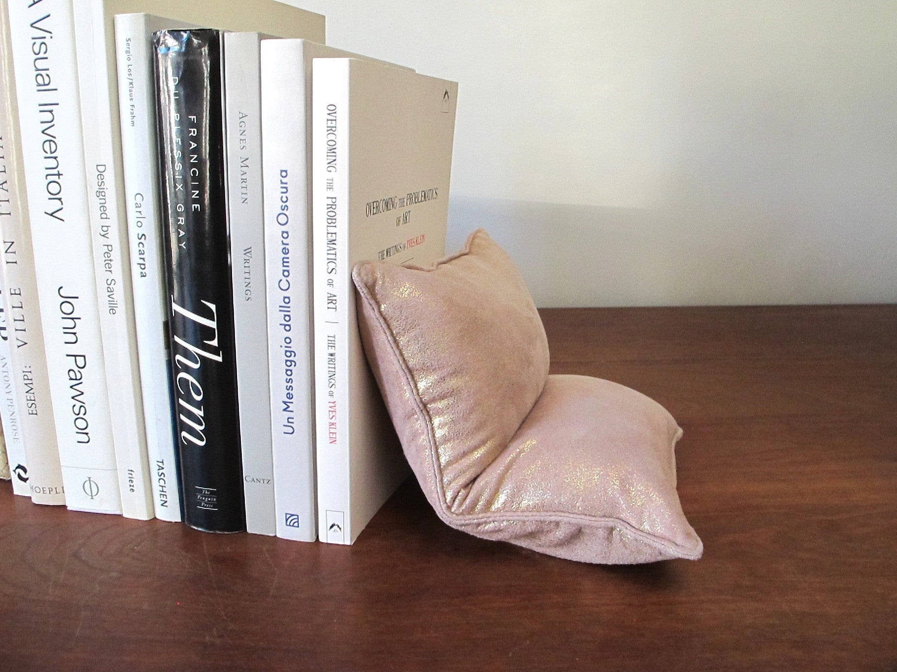SABLÉS BOOKEND SET in pink gold