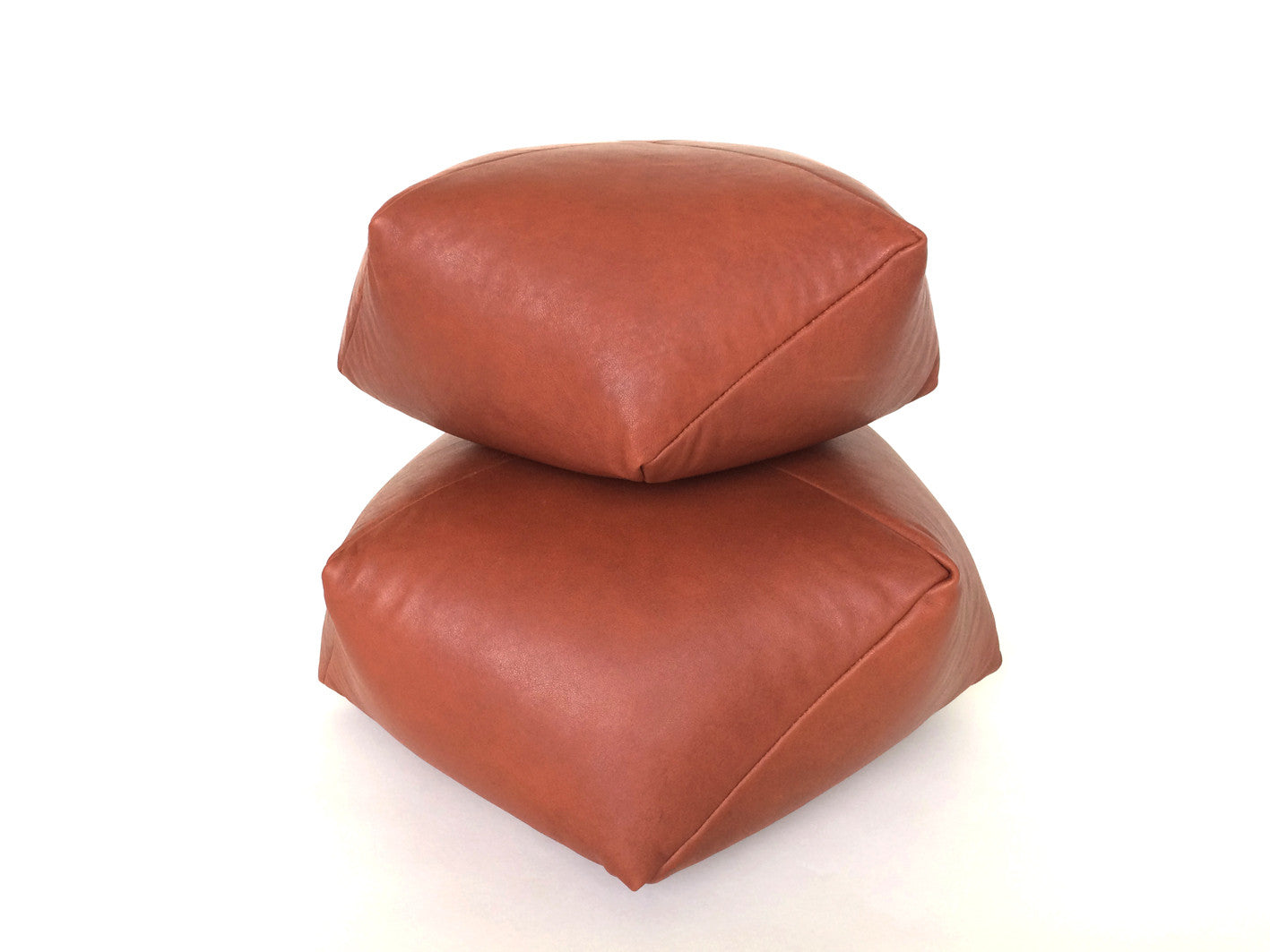 DUMPLING CUSHION in cognac