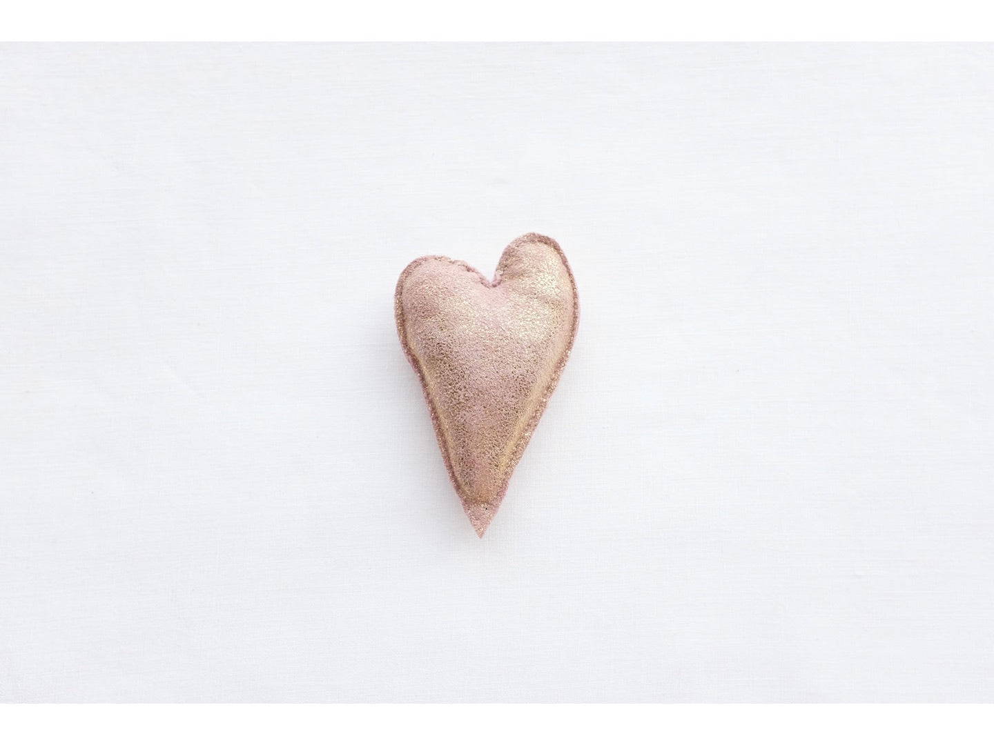 HEART in pink gold, medium