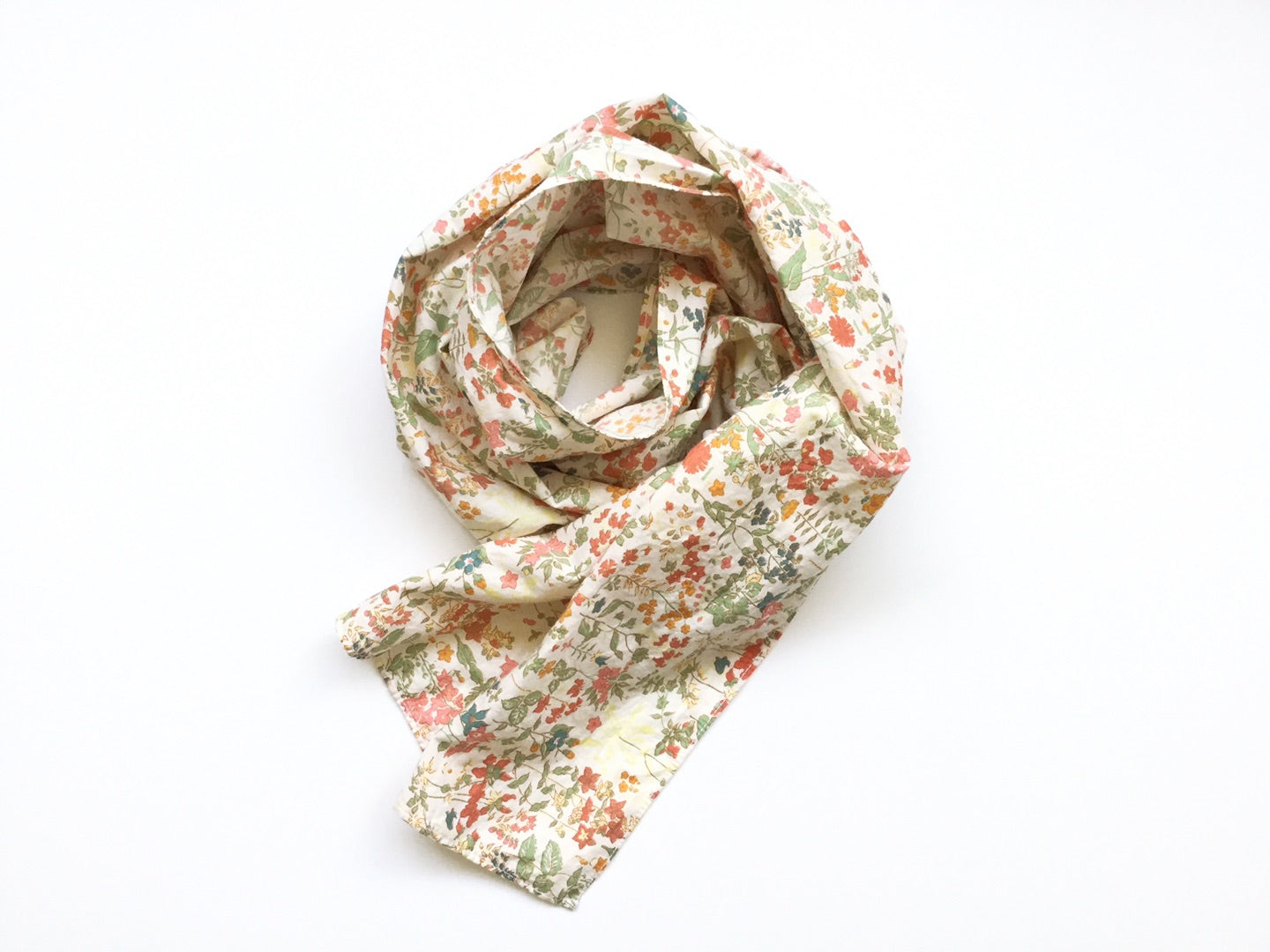 EVERYDAY SCARF, faded liberty cotton