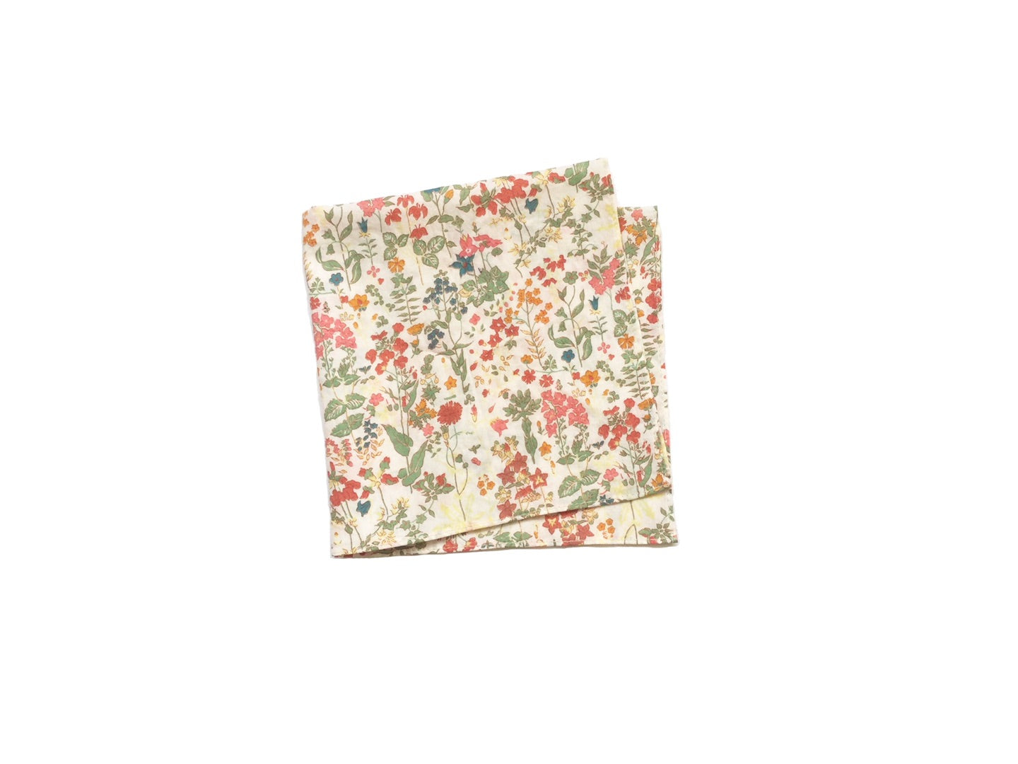 POCKET SQUARE, faded liberty cotton