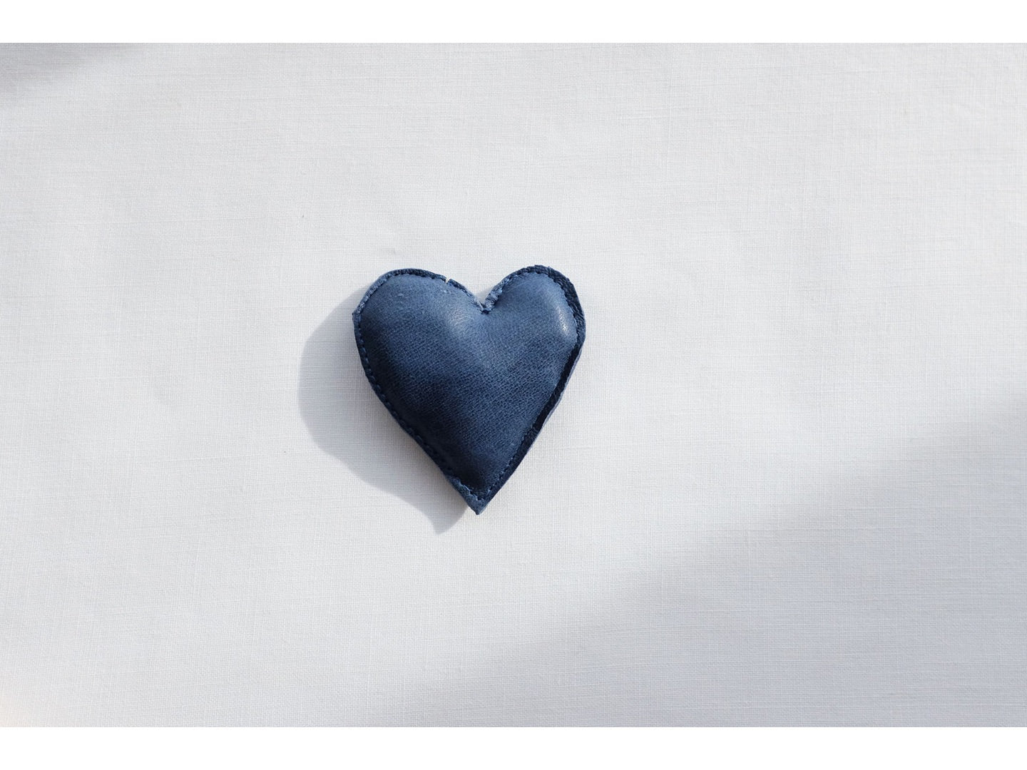 HEART in blue, small