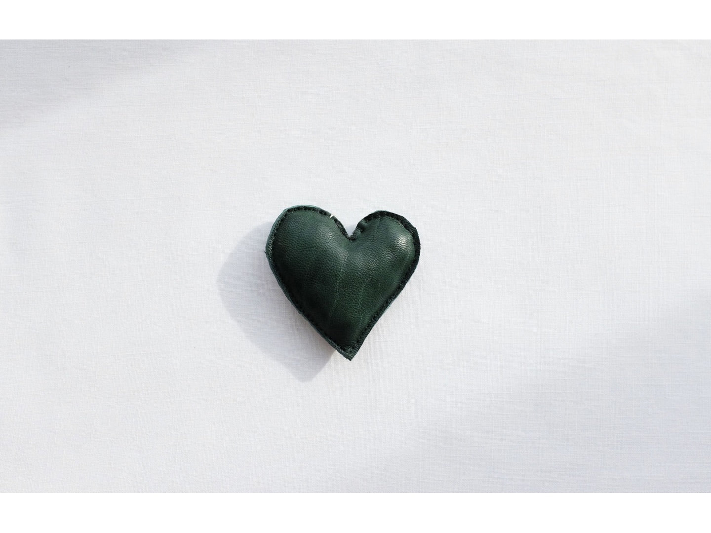 HEART in green, small