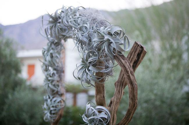 Air Plant Weddings: Arbors & Ceremony Decor
