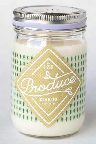 Rosemary Produce Candle