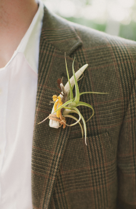 woodland air plant bouquet