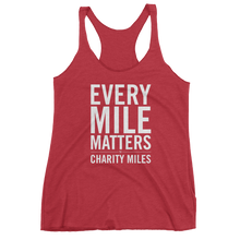 Every Mile Matters - Women's Tank Top